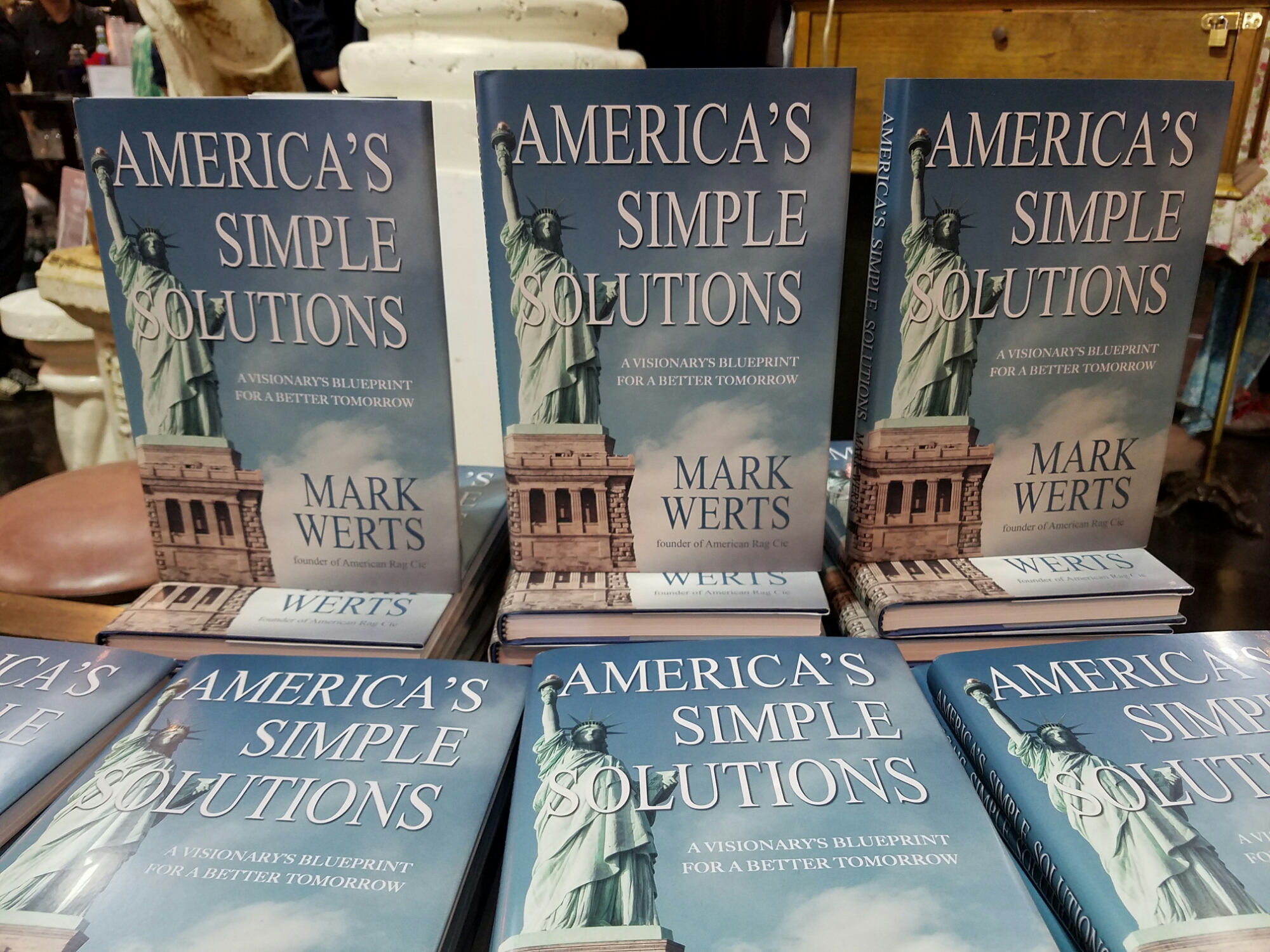 American rags ceo mark werts launches americas simple solutions american rags ceo mark werts launches americas simple solutions book lempereur magazine malvernweather Gallery